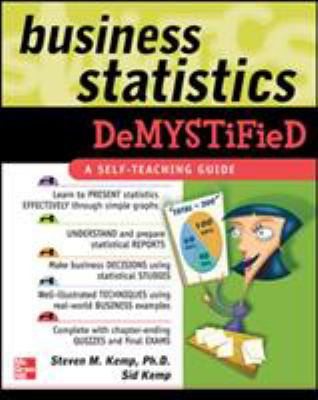Business Statistics Demystified 9780071440240