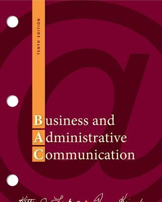 Business and Administrative Communication 9780077419530