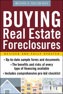 Buying Real Estate Foreclosures 9780071412384