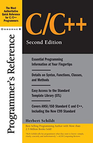 C/C++ Programmer's Reference 9780072127065
