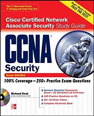 CCNA Cisco Certified Network Associate Security Study Guide (Exam 640-553) [With CDROM] 9780071625197