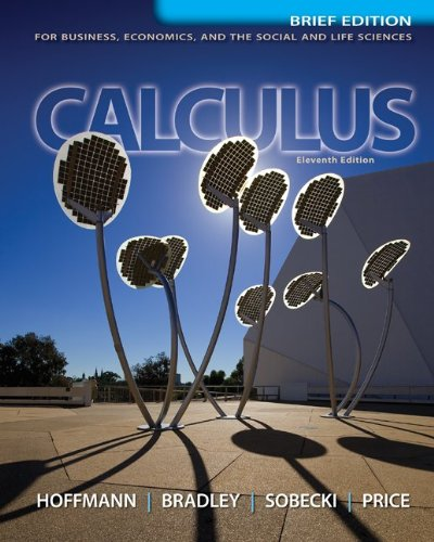 Calculus for Business, Economics, and the Social and Life Sciences 9780073532387