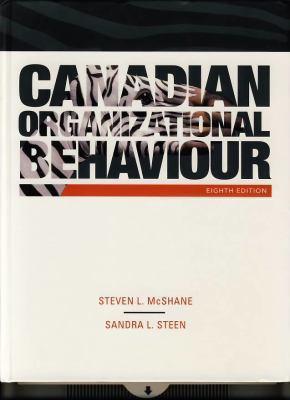 Canadian Organizational Behavior 9780070401877