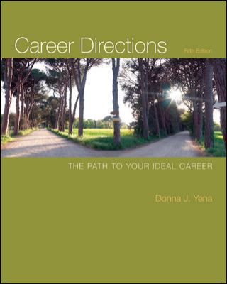 Career Directions: The Path to Your Ideal Career 9780073375151