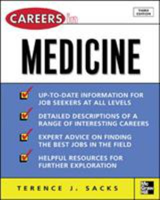 Careers in Medicine 9780071458740