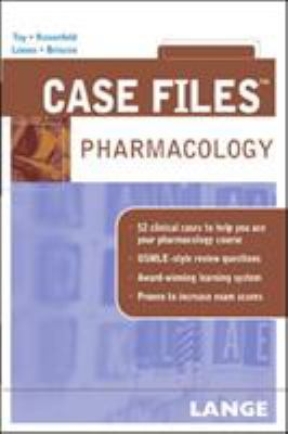 Case Files: Pharmacology 9780071445733