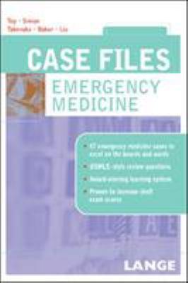 Case Files Emergency Medicine 9780071437950