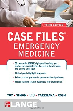 Case Files Emergency Medicine, Third Edition 9780071768542