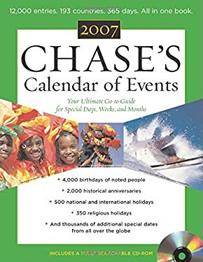 Chase's Calendar of Events 9780071468183