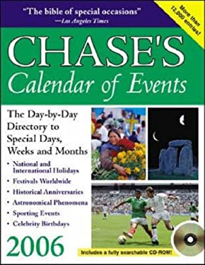 Chase's Calendar of Events [With CDROM] 9780071461108
