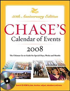 Chase's Calendar of Events [With CDROM] 9780071489034