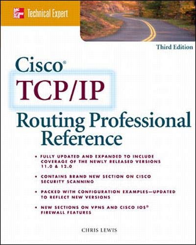 Cisco TCP/IP Routing Professional Reference 9780072125573