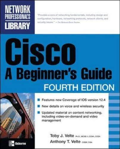 Cisco: A Beginner's Guide 9780072256352