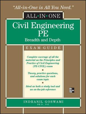 Civil Engineering PE All-In-One Exam Guide: Breadth and Depth 9780071502658