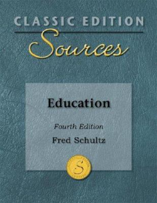 Classic Edition Sources: Education 9780073379746