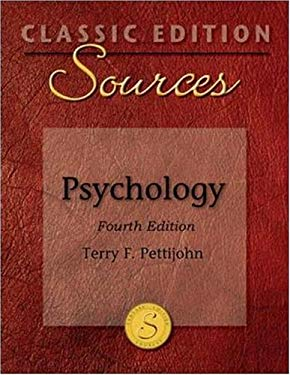 Classic Edition Sources: Psychology - 4th Edition