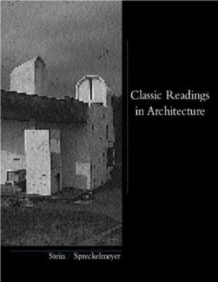 Classic Readings in Architecture 9780070614154