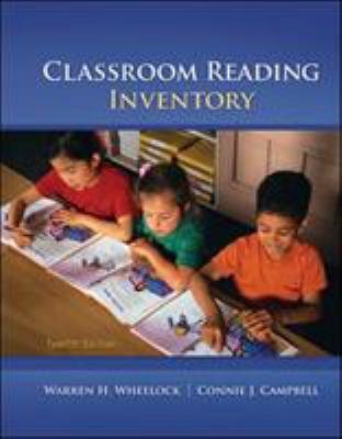 Classroom Reading Inventory 9780078110252