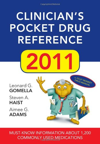 Clinician's Pocket Drug Reference 9780071637886