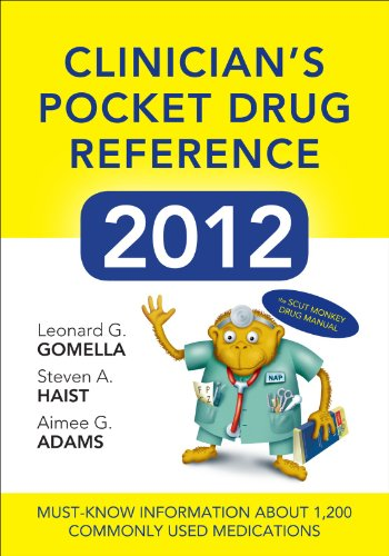 Clinician's Pocket Drug Reference 9780071781626