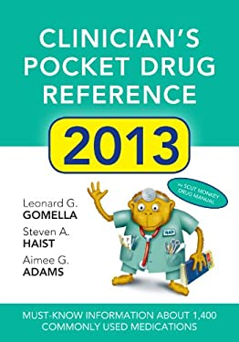 Clinicians Pocket Drug Reference 2013 9780071791779