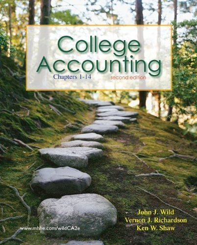 College Accounting, Chapters 1-14 [With Connected World: Fiscal 2008 Annual Report, Best B] 9780077346102