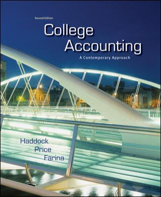 College Accounting: A Contemporary Approach 9780077430764
