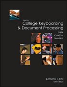College Keyboarding & Document Processing: Word 2003, Kit 3 Lessons 1-120 [With CDROM] 9780073138480