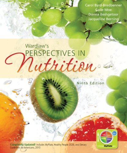 Combo: Wardlaw's Perspectives in Nutrition with Connect Plus 1 Semester Access Card 9780077919788