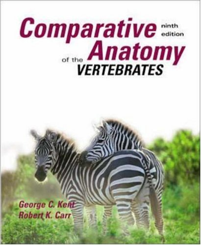 Comparative Anatomy of the Vertebrates 9780073038698