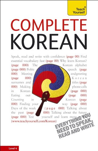 Complete Korean with Two Audio CDs: A Teach Yourself Guide 9780071737579