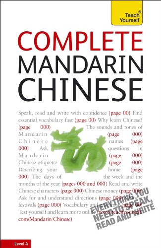 Complete Mandarin Chinese with Two Audio CDs: A Teach Yourself Guide 9780071737272