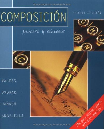 Composicion: Proceso y Sintesis 9780072818895