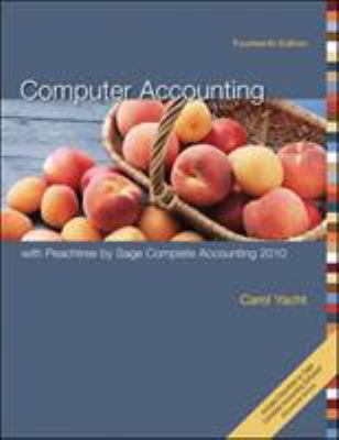 Computer Accounting with Peachtree Complete 2010, Release 17.0 9780073527147