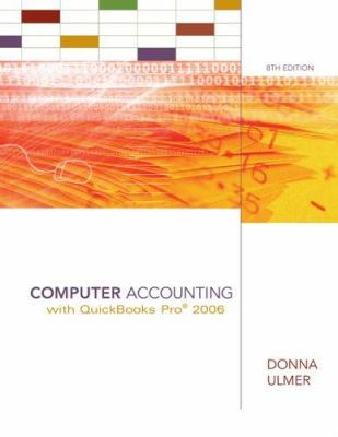 Computer Accounting with QuickBooks Pro 2006 9780073131146