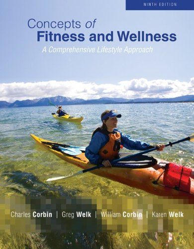 Concepts of Fitness and Wellness: A Comprehensive Lifestyle Approach 9780073523811