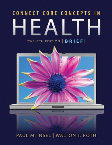 Connect Core Concepts in Health, Brief Edition 9780073404677