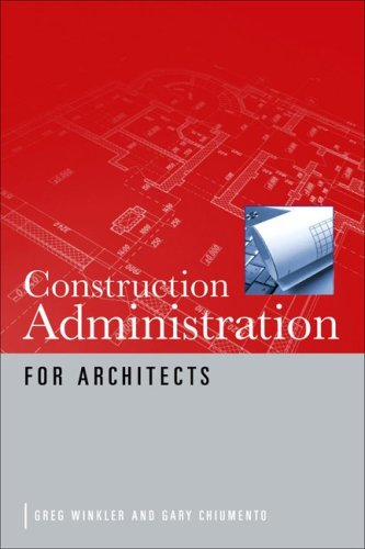 Construction Administration for Architects 9780071622318