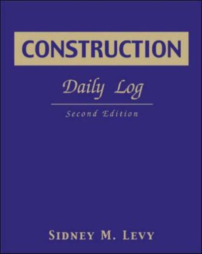 Construction Daily Log 9780071408141