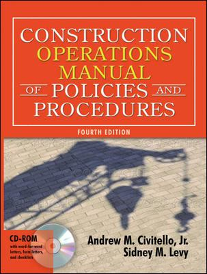 Construction Operations Manual of Policies and Procedures [With CDROM] 9780071432191
