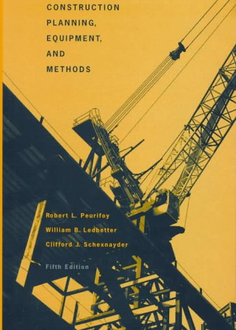 Construction Planning, Equipment, and Methods 9780070498365
