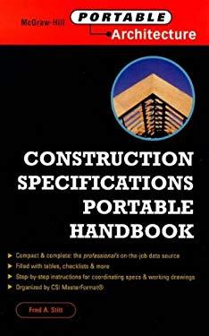 Construction Specifications Portable Handbook 9780071341035