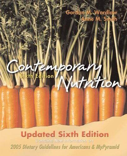 Contemporary Nutrition, 6/E Update W/Aris Bind in Card 9780073256528