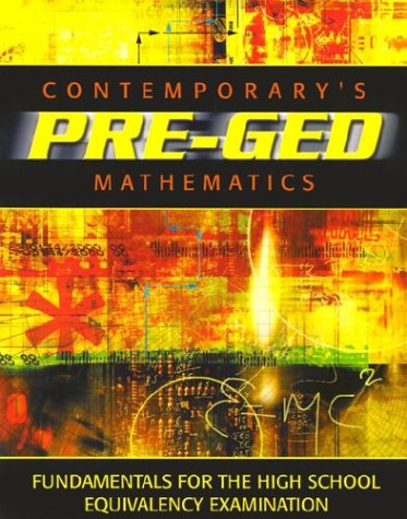 Contemporary Pre-GED Mathematics 9780072527605