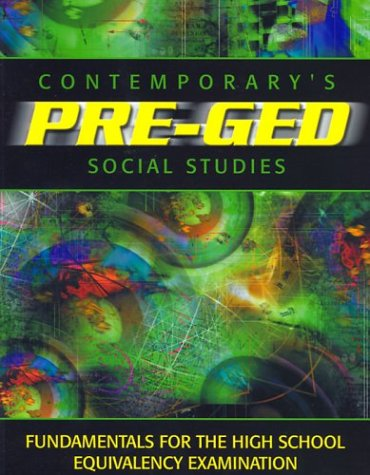 Contemporary Pre-GED Social Studies 9780072527629