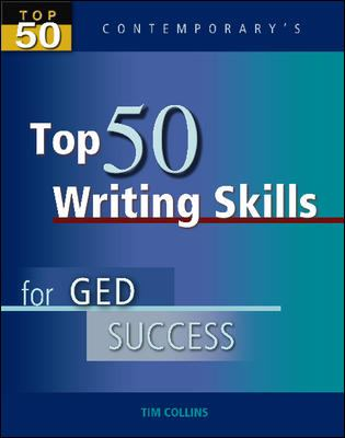 Top 50 Writing Skills for GED Success 9780077044787