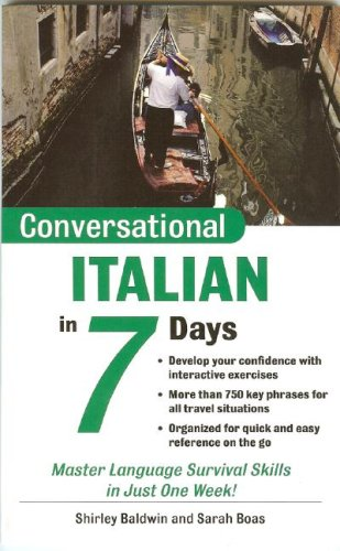 Conversational Italian in 7 Days 9780071432559