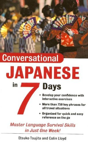 Conversational Japanese in 7 Days 9780071432856