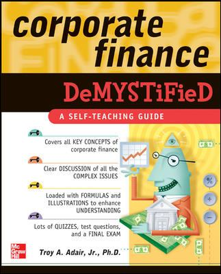 Corporate Finance Demystified 9780071459105