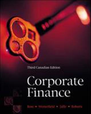 Corporate Finance 9780070897823